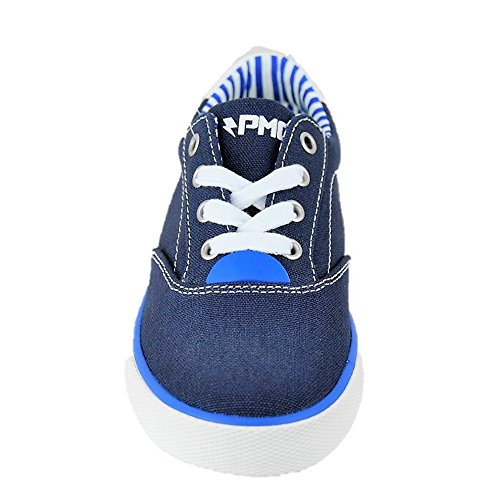 PRIMIGI 73090 tela canvas stile nautico blu/blue flexible anti shock