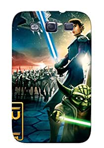 Crapemill EEYvAGo7542gxmUx Protective Case For Galaxy S3(star Wars The Clone Wars )