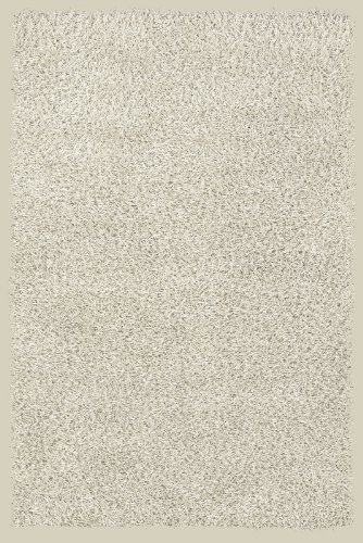 Rizzy Rugs ST-0792 2-Foot-by-3-Foot Straw Area Rug, Shag Ivory