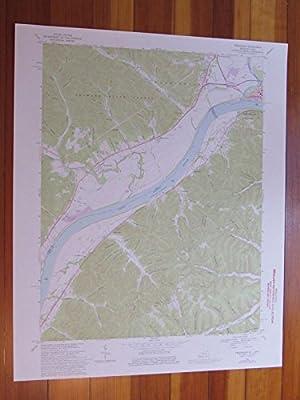 Friendship Kentucky 1976 Original Vintage USGS Topo Map