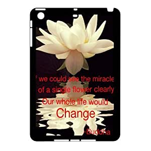 Personalized Protective Hard Plastic Case for Ipad 2,3,4 - Buddha Quote custom case at CHXTT-C