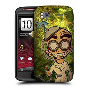 DIY Case Designs Brainwash Mad Scientists Protective Snap-on Hard Back Case Cover for HTC Sensation XE Sensation by ruishername