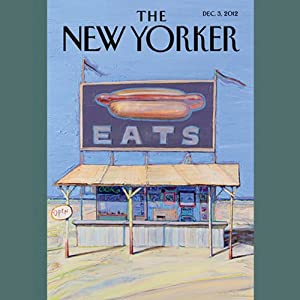 The New Yorker, December 3rd 2012 (Dana Goodyear, Daniyal Mueenuddin, Peter Schjeldahl) Periodical