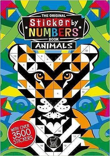 Sticker By Numbers Animals Sticker Activity Joanna