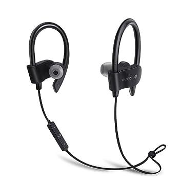 Auriculares Bluetooth, Anti-Sudor Bluetooth 4.1 Auriculares Intrauditivos Para Correr, Auriculares Estéreo Ultraligeros