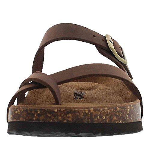 Women's 5 Alicia Toe Loop SoftMoc Sandal Footbed Cork EPdEZS