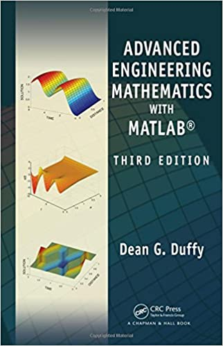 Advanced Engineering Mathematics With Matlab Third Edition Advances In Applied Mathematics Duffy Dean G 9781439816240 Amazon Com Books