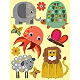 K & Company Actopus To Zelephant Grand Adhesions - Felt Animals