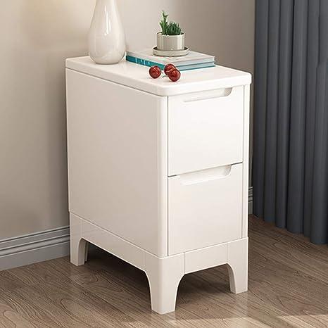 Amazon.com: Night stand HAIZHEN Mini Ultra Narrow Bedside ...