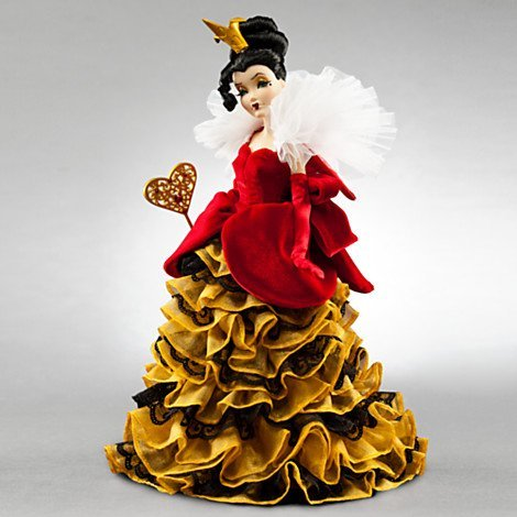 Disney Vie Lands Designer Collection Doll Alice in Wonderland Queen of Hearts