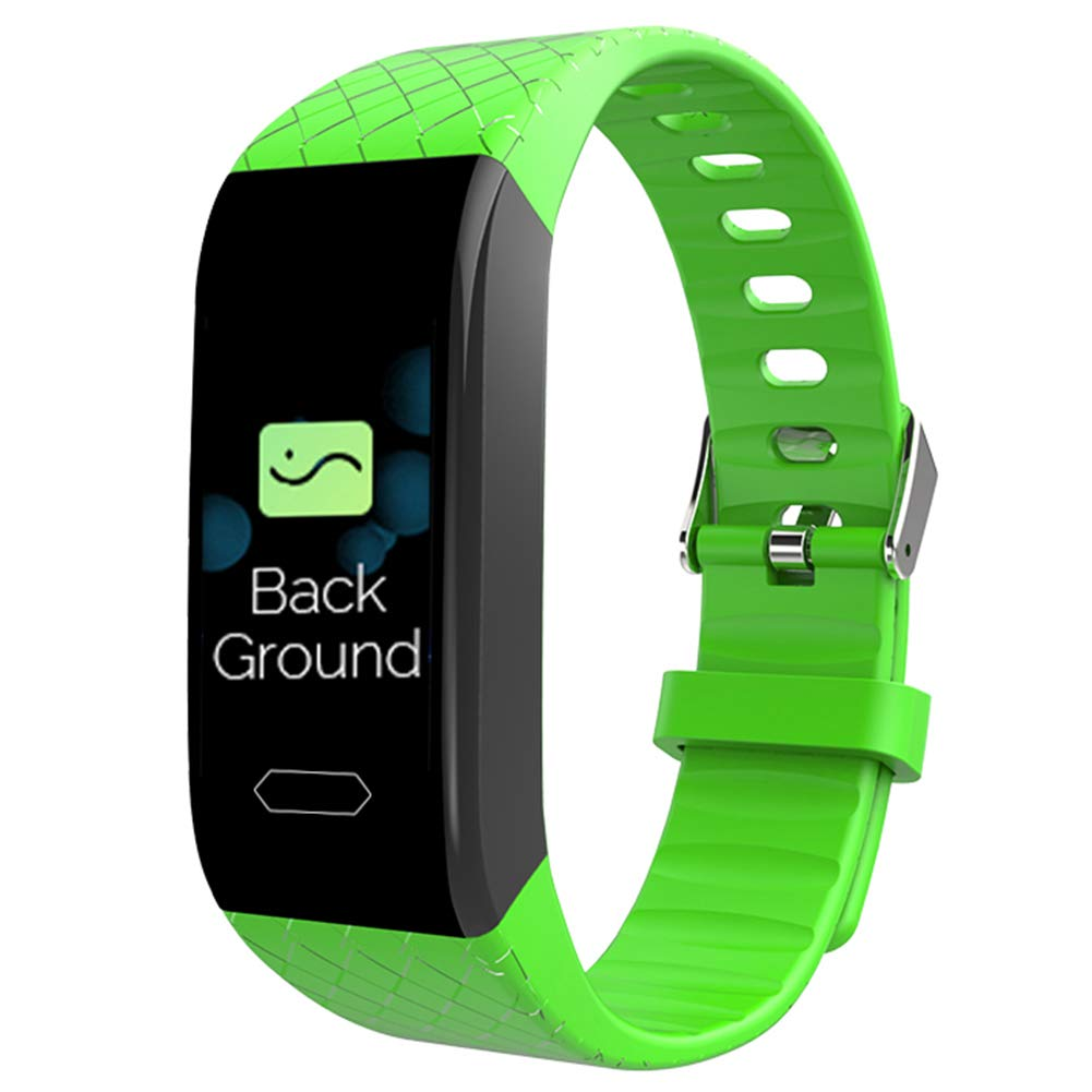 SSeir Fitness trackers, attività Tracker orologio con Cuore Tenere sotto Controllo, attività Tracker Pedometro Impermeabile IP67 per Bambini Donne e Uomini,verde