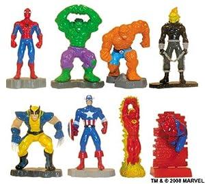 Amazon Com Marvel Super Heroes Buildable Mini Figures