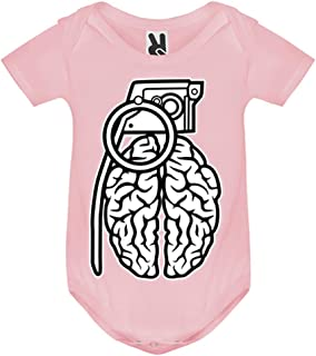 LookMyKase Body bébé - Grenade Brain - Bébé Fille