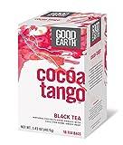 Good Earth Cocoa Tango Black Tea, 18 Count  4 Pack