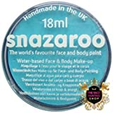 Snazaroo Professional Non Toxic Washable Water Based Reusable Kids Fun School Fete Face Paint Pots Over 30 Colours (18ml Sparkle Turquoise)