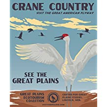 Crane Country Great Plains Ecotourism Poster