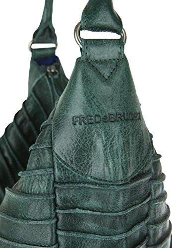 FredsBruder Riffeltier S Borsa hobo smeraldo