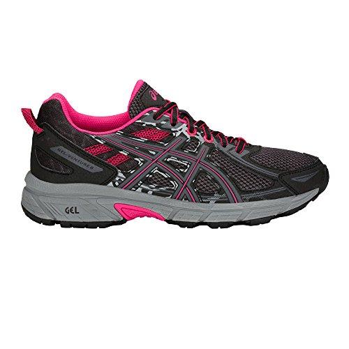 Gel Mujer Asics Zapatillas venture 6 Negro Running Para De 10dqFx0