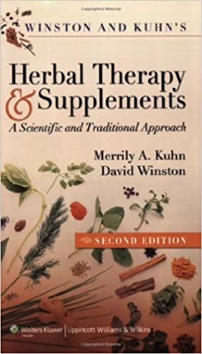 winston kuhns herbal therapy and supplements a scientific and traditional approach