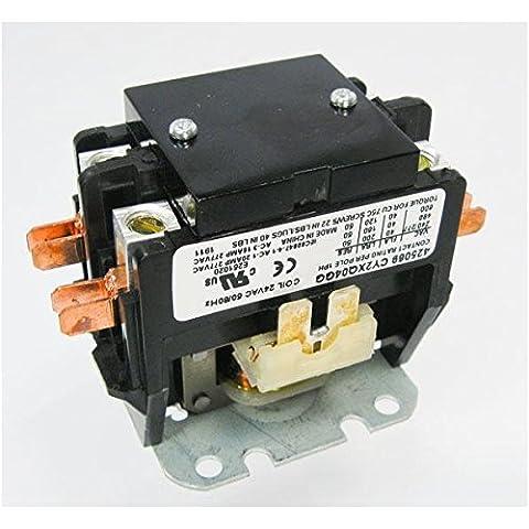Rheem Ruud Protech 425069 - 40 Amp 2-Pole 24 Volt Contactor (Rheem Contactor)