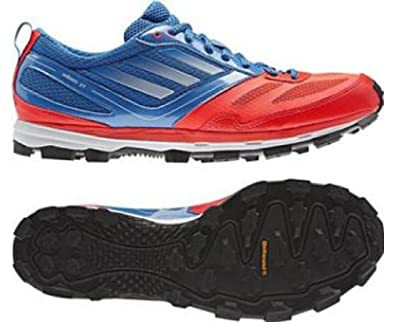 huge selection of 58e81 0cdeb ADIDAS adiZero XT 4 Mens Trail Running Shoes, BlueRed, UK9 Amazon.co.uk  Shoes  Bags