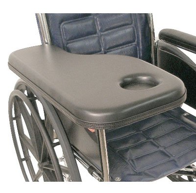 Molded Lap Tray (Flip-Away Padded Trimline Half Tray with Molded Cup Holder - Right)
