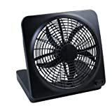O2 Cool Battery Powered IndoorOutdoor Fan 10 inch