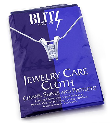 Extra Large 2-Ply Jewelry Care Cloth, Used by Professionals! Cleans, Shines and Protects! for Gold, Silver, and Platinum. 12'x15' by Sterling Manufacturers
