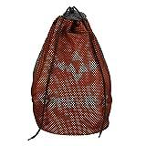 MatureGirl 2018 Couple Student Oxford Cloth Drawstring Bag Shoulder Bag School Bag Backpack (Orange)