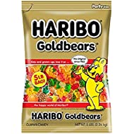 Haribo Gummi Candy, Goldbears Gummi Candy, 5 Pound Bag