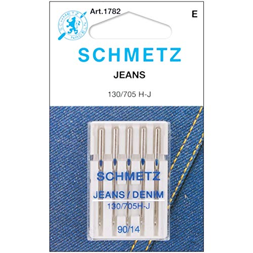 Euro-Notions Jean & Denim Machine Needles-Size 14/90 5/Pkg