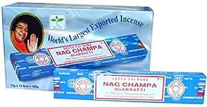 Nag Champa 1401 - Paquete de 15 palitos de incienso