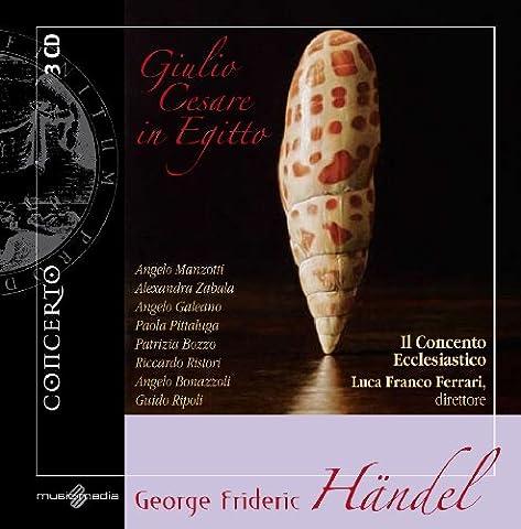 Handel, G.F.: Giulio Cesare in Egitto [Opera] - Giulio Ferrari