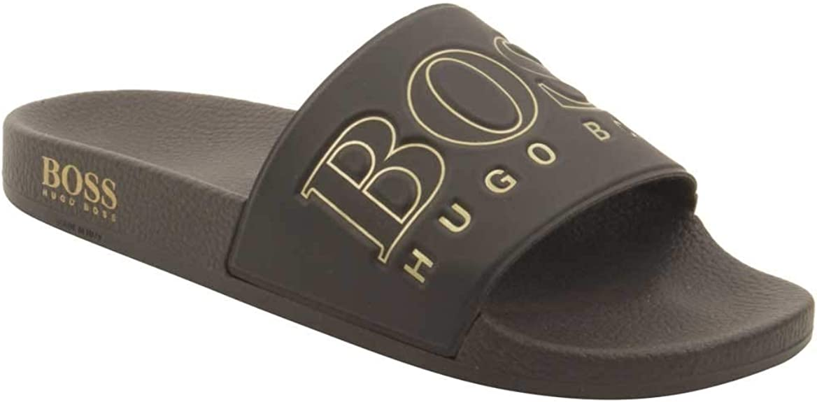 hugo boss black and gold shoes