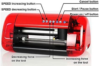 Marca nuevo tamaño A3 cortador de vinilo y Plotter con Contour Cut ...