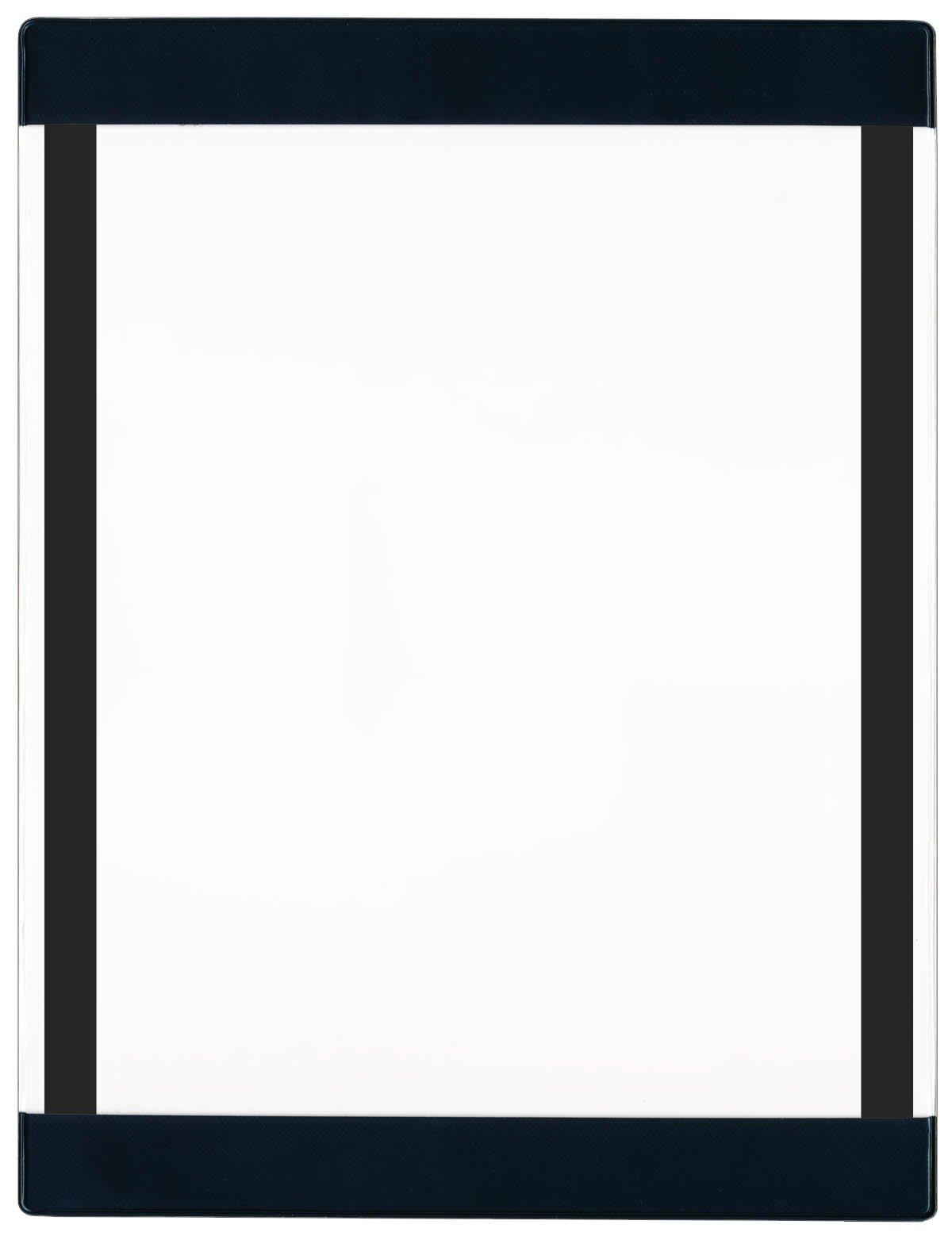 Store SMART - Open Face Black Frame - Magnetic-Back - 50 Pack - PE931PQBKM-50