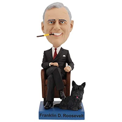 Royal Bobbles Franklin Delano Roosevelt Bobblehead: Toys & Games