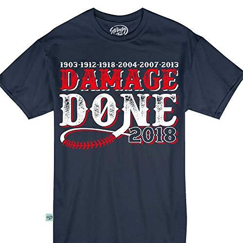 Damage Done Boston 2018 Shirts Won World Champions Vintage Tshirt