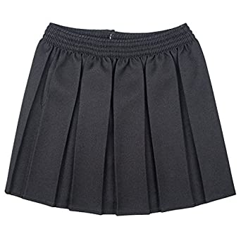 d958cf784 Top Quality Girls School Uniform Box Pleated Elasticated waist school kids  Skirt All Ages ~ TOP