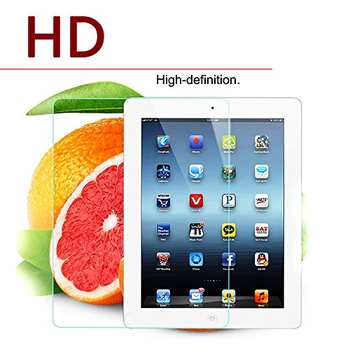 Price comparison product image New iPad Pro 9.7 Inch / iPad Air / iPad Air 2 Screen Protector,  AOZHUN Premium Tempered Glass Ballistic Tablet Film HD,  Scratch Proof,  Anti-Scratch,  Anti-Glare,  Bubble Free. (HD Clear)