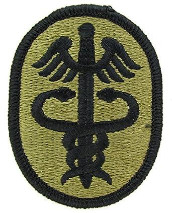 amazoncom us army medical command medcom ocp patch