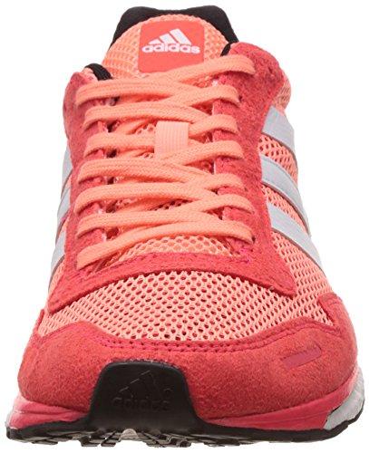 adidas Damen Adizero Adios 3 Laufschuhe, Orange Rojo / Blanco (Brisol / Ftwbla / Rojimp)