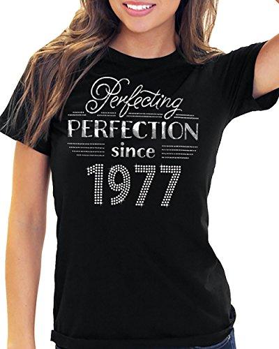 Birthday Perfecting Perfection Since RhinestoneSash com