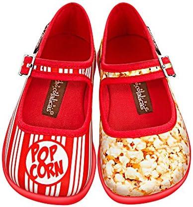 طراحی شکلات داغ Mini Chocolaticas Popcorn Girls، Mary Jane Flat