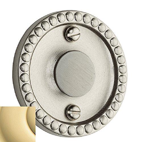Baldwin 0405031 E R Trim Unlacquered Bright Brass