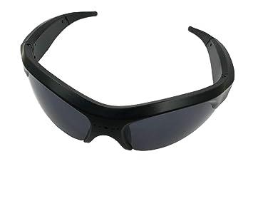 ZEUS Gafas de sol Cámara de acción 1080P Cámara de gafas secretas, Gafas mejoradas de