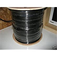 CERTICABLE 125' FT. CAT-6 CAT6 SHIELDED OUTDOOR DIRECT UV BURIAL CABLE RJ45 - RJ45 + BOOTS