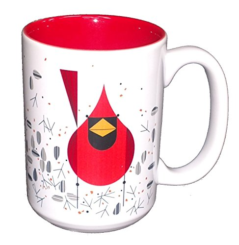 Charley Harper Cardinal and Seeds Grande Mug (Boxed Single) ()