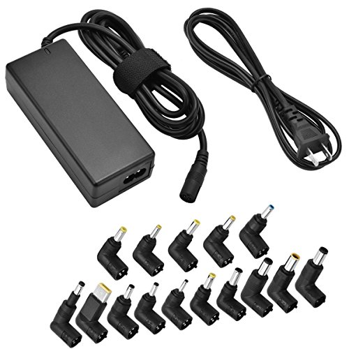 65W Universal Laptop AC Adapter Power Charger for Hp Dell Acer Asus Lenovo Ibm Toshiba Sony Fujitsu Samsung Gateway Notebook by (Gateway Universal Adapter)