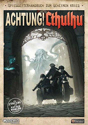 Achtung! Cthulhu - Spielleiterhandbuch Gebundenes Buch – 1. Dezember 2016 Uhrwerk-Verlag 3958670687 Spielen / Raten Cthulhu (Horror-Rollenspiel)